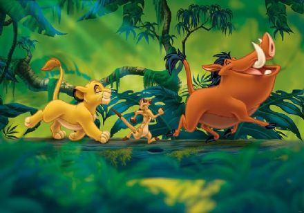 Disney Lion King Adventure wall mural